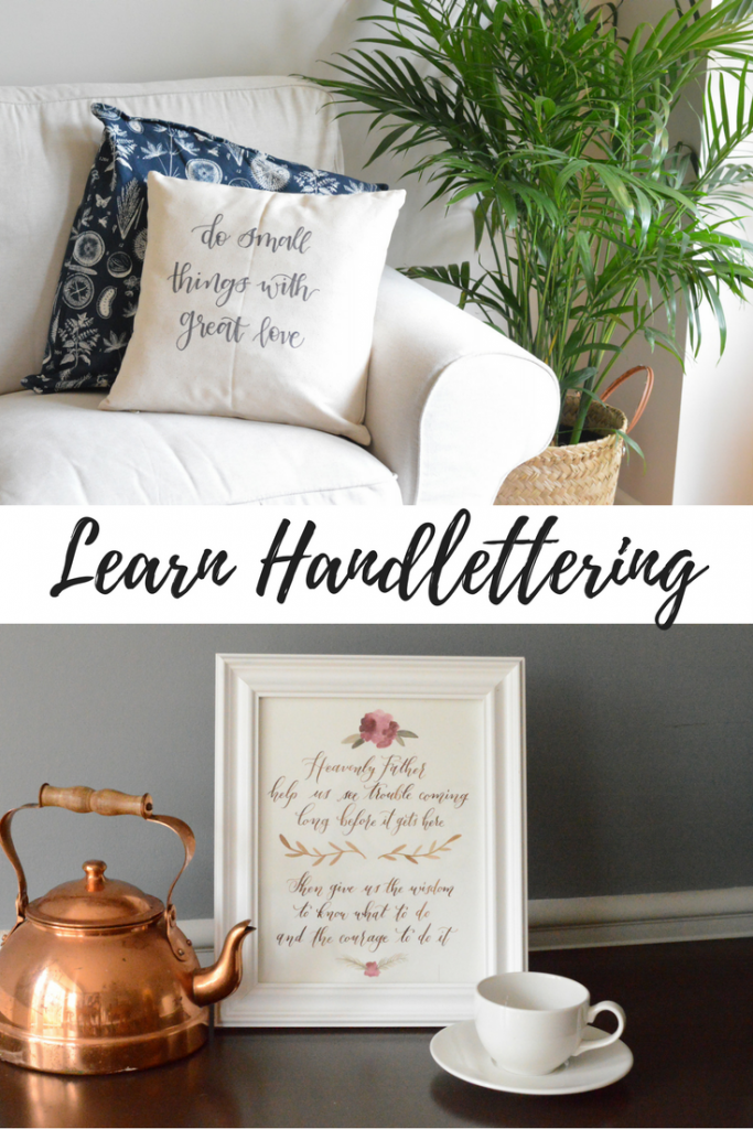 Learn Handlettering pinterest